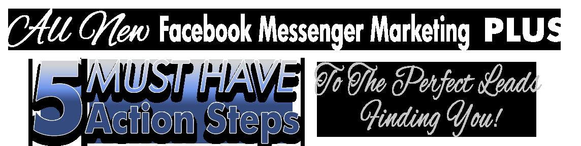 All New Facebook Messenger Marketing