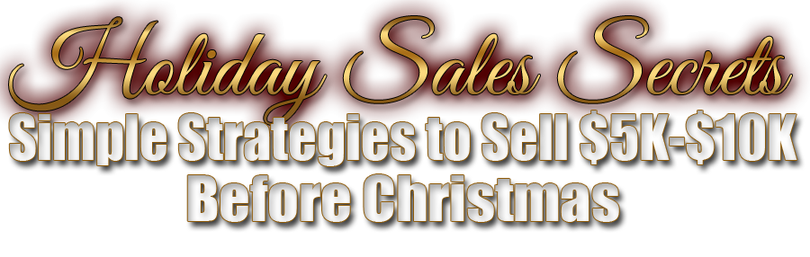 Holiday Sales Secrets